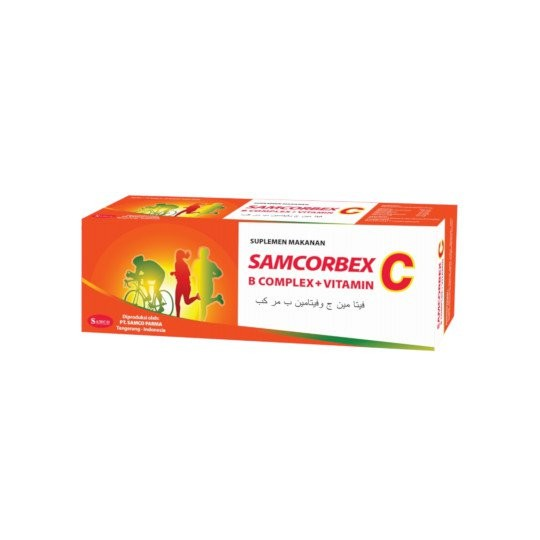SAMCORBEX 10 KAPLET - GriyaFarmaOnline