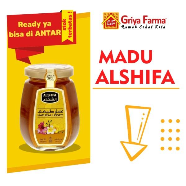 Madu Alshifa 500gr - GriyaFarmaOnline