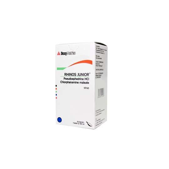 RHINOS JUNIOR SIRUP 60 ML - GriyaFarmaOnline
