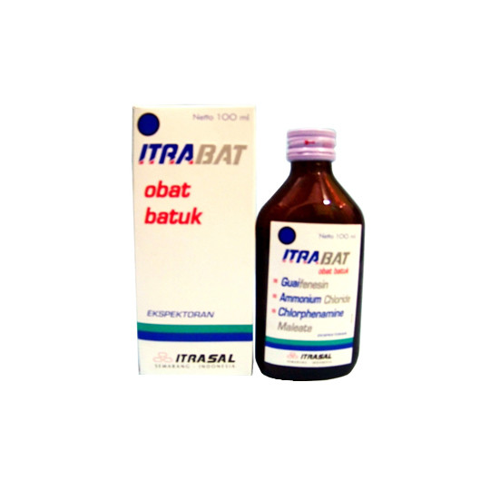 ITRABAT SIRUP 100 ML - GriyaFarmaOnline