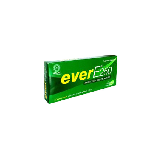 EVER E 250 IU 12 KAPSUL - GriyaFarmaOnline