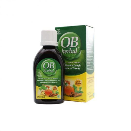 OB HERBAL MADU 100 ML - GriyaFarmaOnline