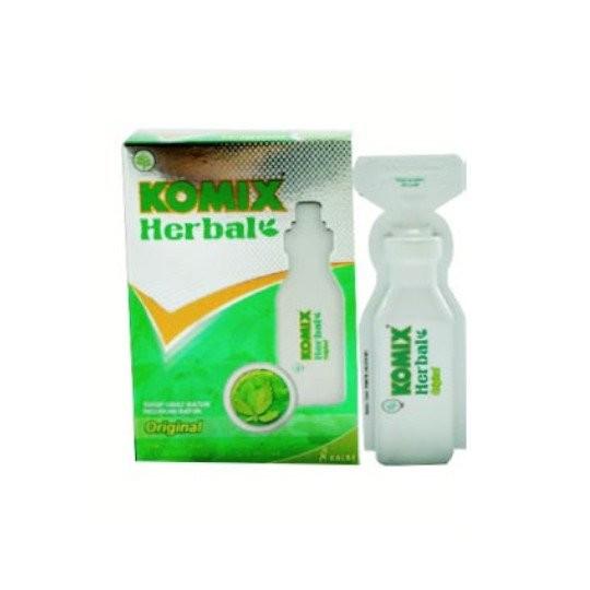 KOMIX HERBAL 15 ML 4 BOTOL - GriyaFarmaOnline