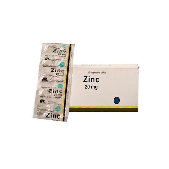 ZINC 20 MG 10 TABLET - GriyaFarmaOnline