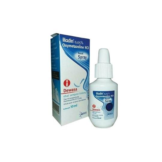 ILIADIN DEWASA 0.05% NASAL SPRAY 10 ML - GriyaFarmaOnline