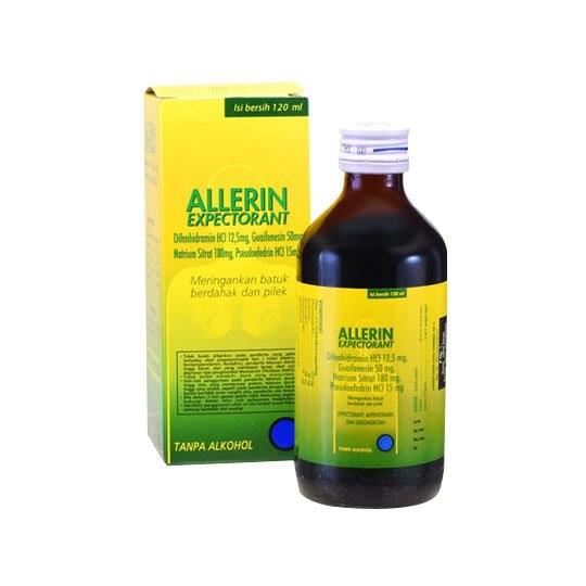 ALLERIN EKSPEKTORAN SIRUP 120 ML - GriyaFarmaOnline