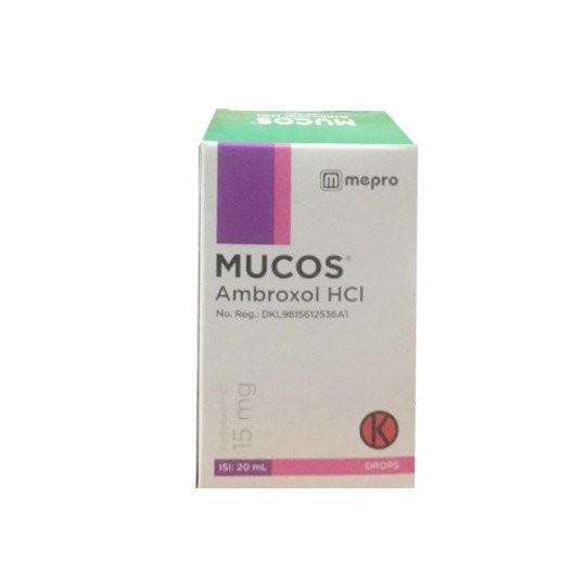 MUCOS DROPS 20 ML - GriyaFarmaOnline