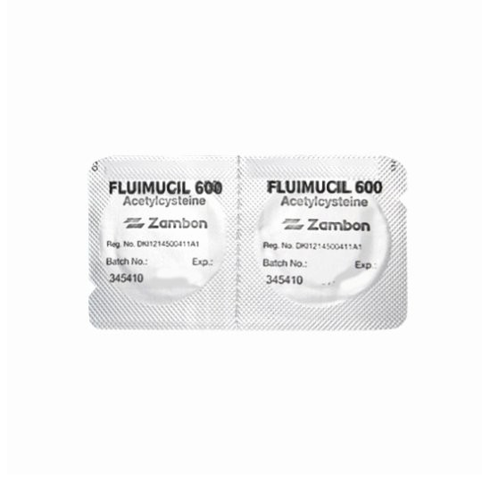 FLUIMUCIL 600 MG 2 TABLET EFFERVESCENT - GriyaFarmaOnline