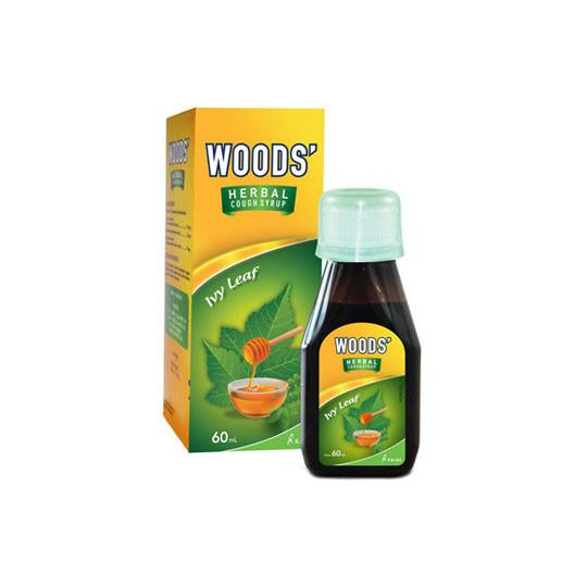 WOODS HERBAL COUGH MEDICINE + HONEY 60 ML - GriyaFarmaOnline