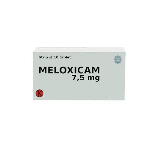 MELOXICAM 7.5 MG 10 TABLET - GriyaFarmaOnline