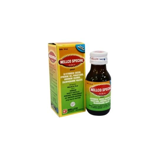 OBH NELLCO SPECIAL DEWASA MENTHOL SIRUP 55 ML - GriyaFarmaOnline