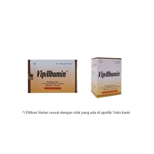 VIPALBUMIN 30 KAPSUL - GriyaFarmaOnline