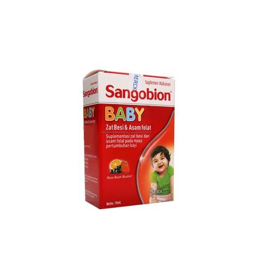 SANGOBION BABY DROPS 15 ML - GriyaFarmaOnline