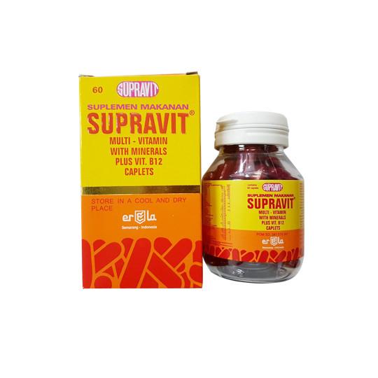 SUPRAVIT 60 KAPSUL - GriyaFarmaOnline