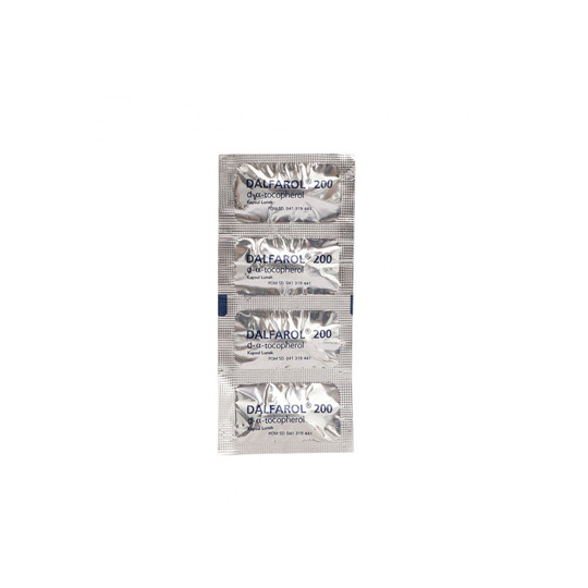 DALFAROL 200 IU 4 KAPSUL - GriyaFarmaOnline