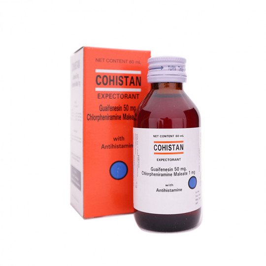 COHISTAN EXPECTORANT SIRUP 60 ML - GriyaFarmaOnline
