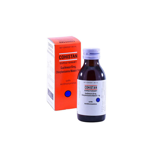 COHISTAN EXPECTORANT SIRUP 100 ML - GriyaFarmaOnline