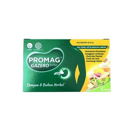 PROMAG GAZERO 10 ML 6 SACHET - GriyaFarmaOnline