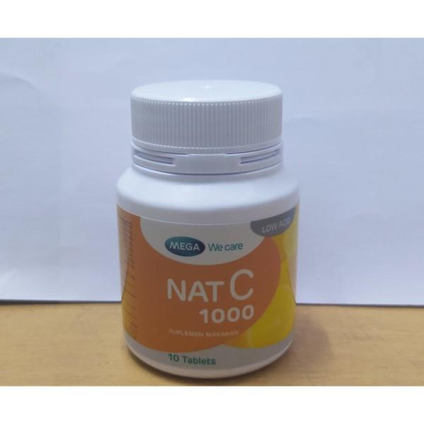 NAT C 1000 MG 10 TABLET - GriyaFarmaOnline