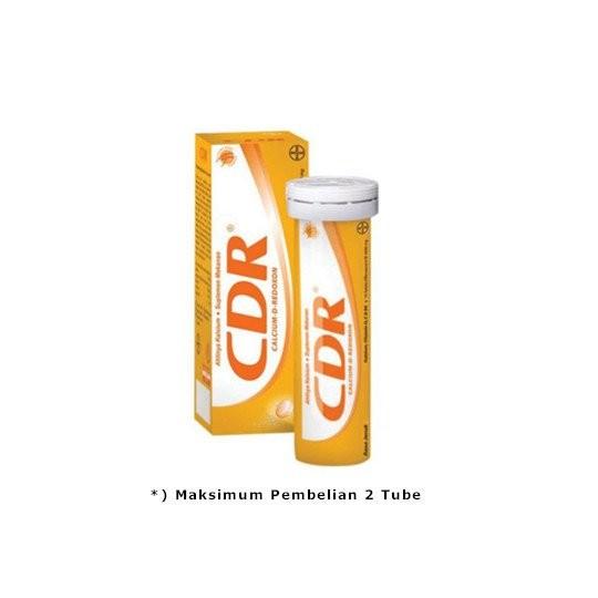 CDR EFFERVESCENT 10 TABLET - GriyaFarmaOnline