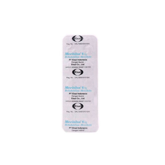 MERISLON 6 MG 10 TABLET - GriyaFarmaOnline