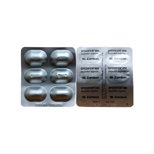 SPEDIFEN TABLET 400 MG 6 TABLET - GriyaFarmaOnline