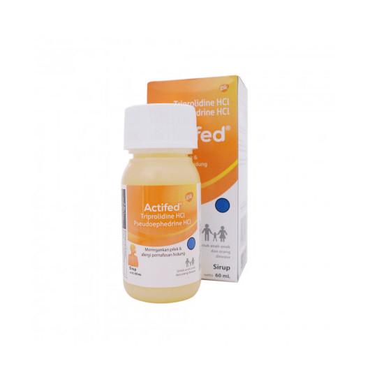 ACTIFED SIRUP 60 ML (KUNING) - GriyaFarmaOnline