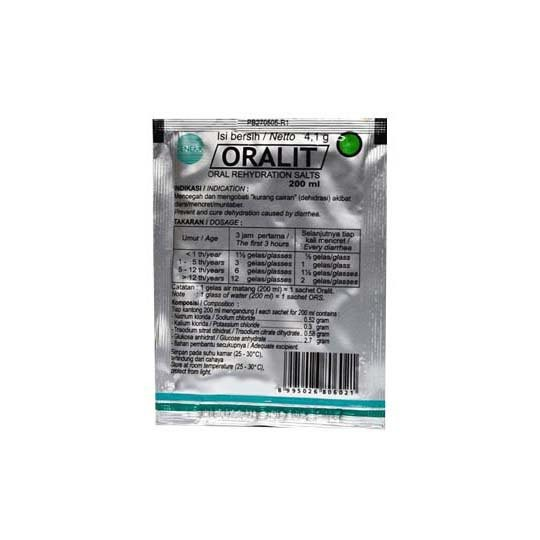 ORALIT 200 4.1 G - GriyaFarmaOnline