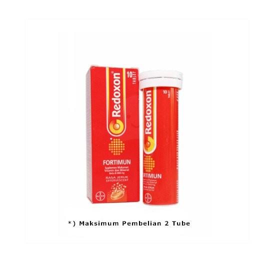 REDOXON FORTIMUN EFFERVESCENT 10 TABLET - GriyaFarmaOnline