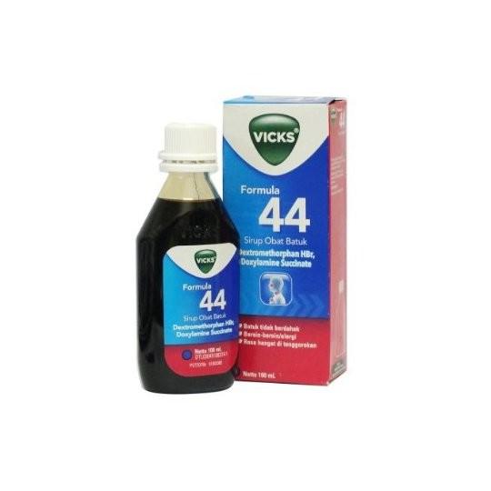 VICKS FORMULA 44 SIRUP 100 ML - GriyaFarmaOnline