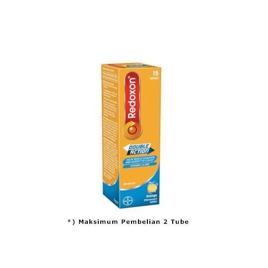 REDOXON DOUBLE ACTION EFFERVESCENT 15 TABLET - GriyaFarmaOnline