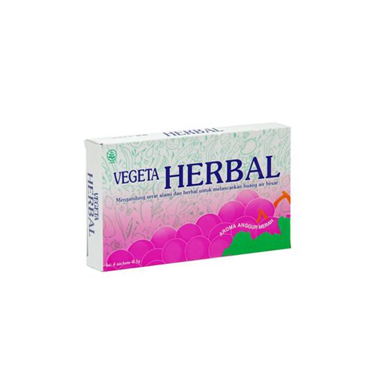 VEGETA HERBAL 6 SACHET - GriyaFarmaOnline