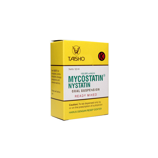 MYCOSTATIN DROPS 12 ML - GriyaFarmaOnline