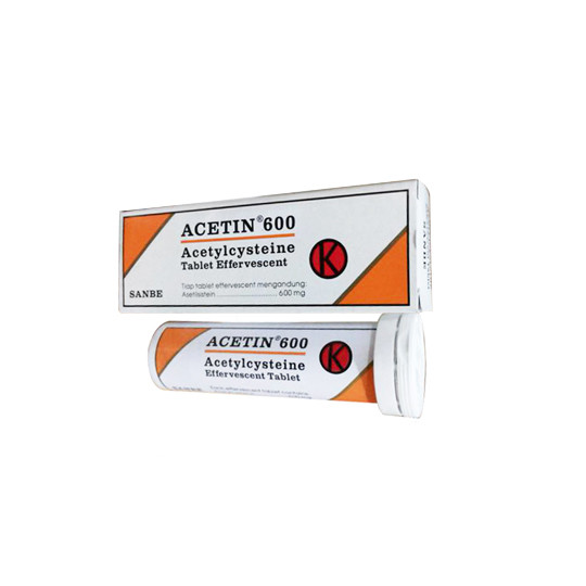 ACETIN 600 TABLET EFFERVESCENT - GriyaFarmaOnline