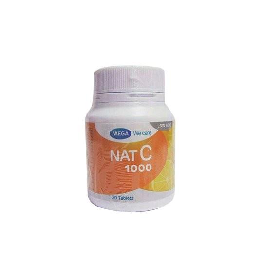 NAT C 1000 MG 30 TABLET - GriyaFarmaOnline