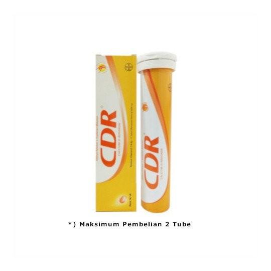 CDR EFFERVESCENT 15 TABLET - GriyaFarmaOnline