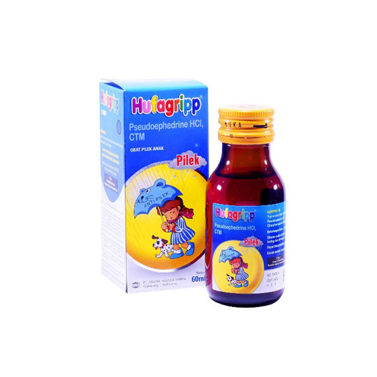 HUFAGRIP PILEK SIRUP 60 ML - GriyaFarmaOnline