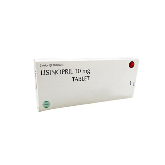 LISINOPRIL 10 MG 10 TABLET - GriyaFarmaOnline