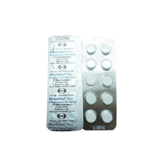 MERISLON 12 MG 10 TABLET - GriyaFarmaOnline