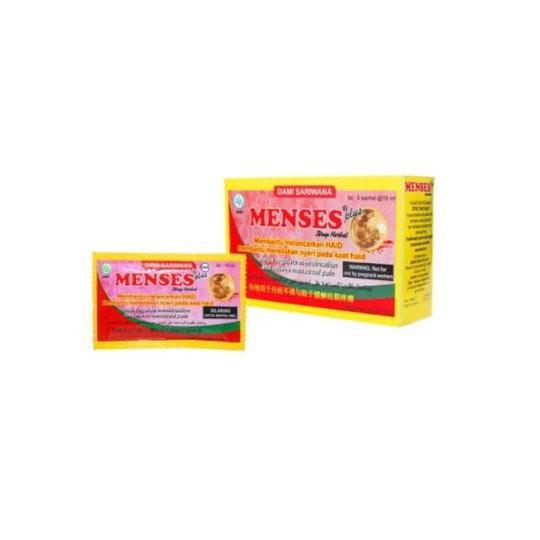 MENSES 15 ML 5 SACHET - GriyaFarmaOnline