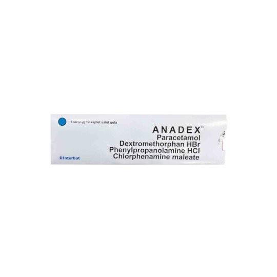 ANADEX 10 TABLET - GriyaFarmaOnline