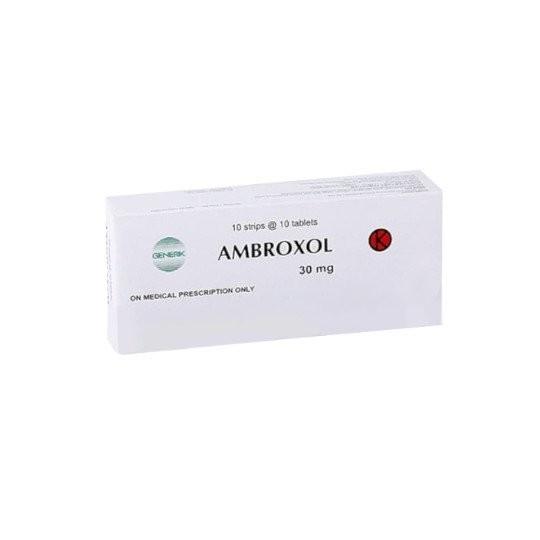 AMBROXOL 30 MG 10 TABLET - GriyaFarmaOnline