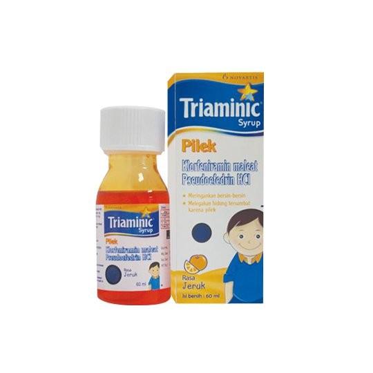 TRIAMINIC PILEK SIRUP 60 ML - GriyaFarmaOnline