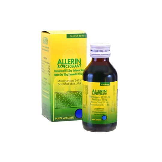 ALLERIN EKSPECTORANT SIRUP 60 ML - GriyaFarmaOnline
