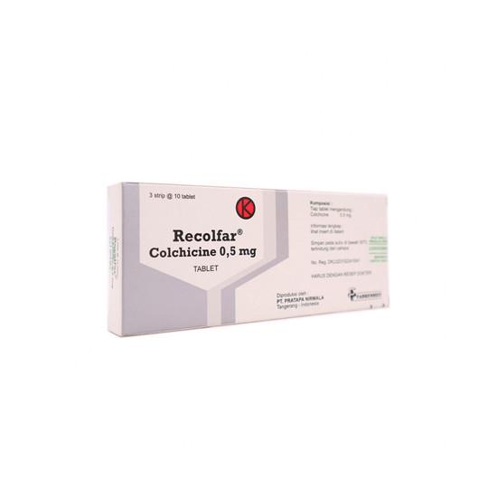 RECOLFAR 0.5 MG 10 TABLET - GriyaFarmaOnline