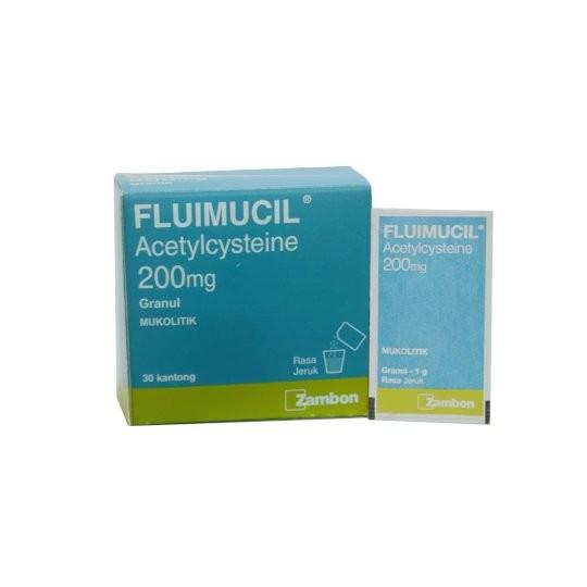 FLUIMUCIL GRANUL 200 MG - GriyaFarmaOnline