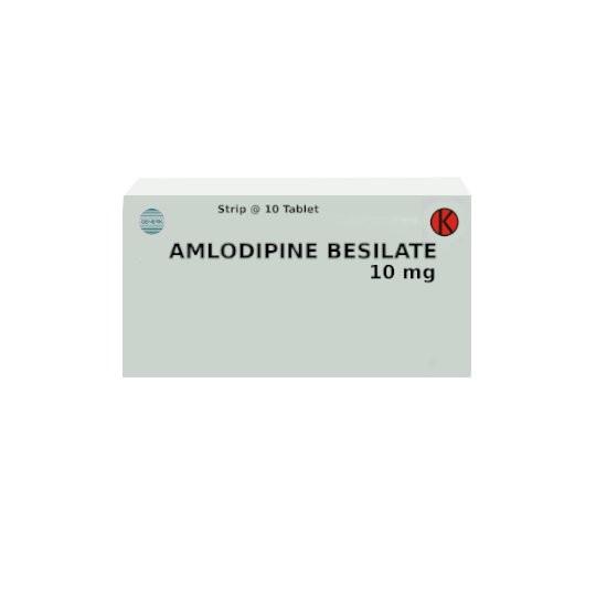 AMLODIPINE 10 MG 10 TABLET - GriyaFarmaOnline