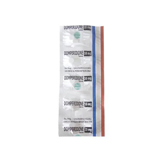 DOMPERIDONE 10 MG 10 TABLET - GriyaFarmaOnline