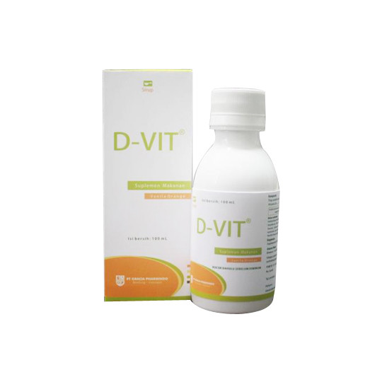D-VIT SYRUP 100 ML - GriyaFarmaOnline