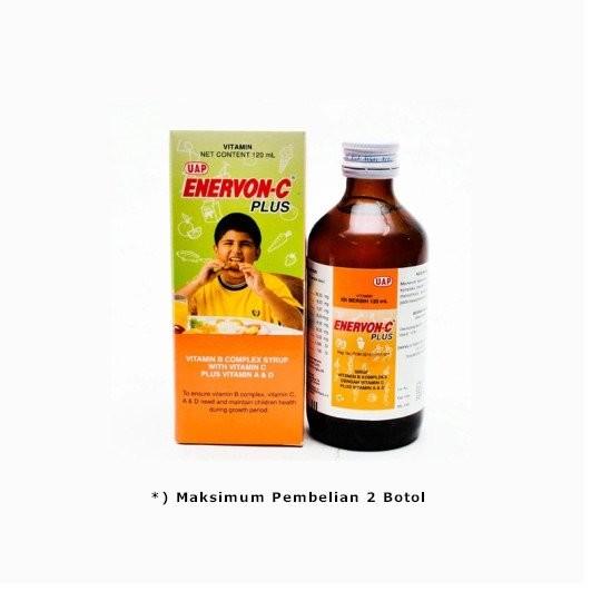 ENERVON C PLUS SIRUP 120 ML - GriyaFarmaOnline